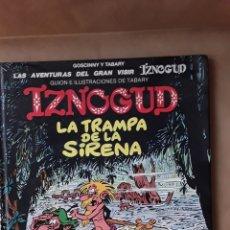 Cómics: - IZNOGUD, Nº 17. LA TRAMPA DE LA SIRENA. GRIJALBO. 1994.. Lote 174980280