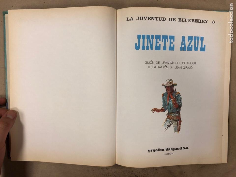 Cómics: LAS AVENTURAS DE TENIENTE BLUEBERRY N° 7. CHARLIER - GIRAUD - WILSON. GRIJALBO DARGAUD. 3 NÚMEROS. - Foto 2 - 174993219