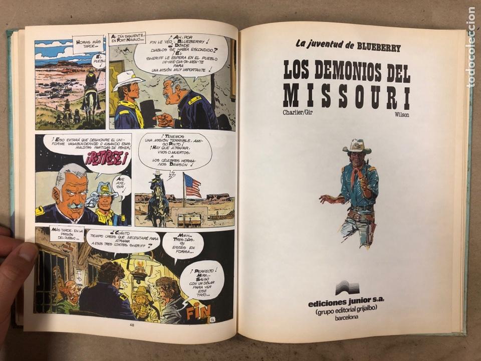 Cómics: LAS AVENTURAS DE TENIENTE BLUEBERRY N° 7. CHARLIER - GIRAUD - WILSON. GRIJALBO DARGAUD. 3 NÚMEROS. - Foto 5 - 174993219