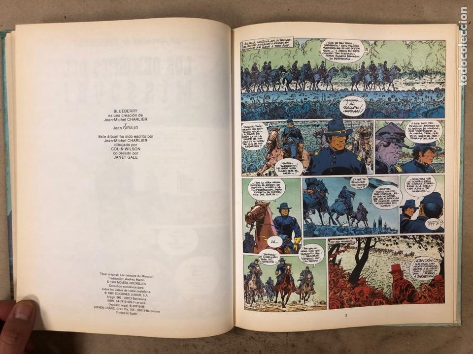 Cómics: LAS AVENTURAS DE TENIENTE BLUEBERRY N° 7. CHARLIER - GIRAUD - WILSON. GRIJALBO DARGAUD. 3 NÚMEROS. - Foto 6 - 174993219
