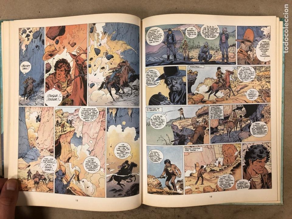 Cómics: LAS AVENTURAS DE TENIENTE BLUEBERRY N° 7. CHARLIER - GIRAUD - WILSON. GRIJALBO DARGAUD. 3 NÚMEROS. - Foto 7 - 174993219
