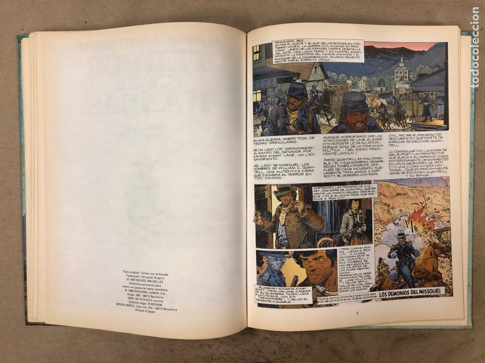Cómics: LAS AVENTURAS DE TENIENTE BLUEBERRY N° 7. CHARLIER - GIRAUD - WILSON. GRIJALBO DARGAUD. 3 NÚMEROS. - Foto 9 - 174993219