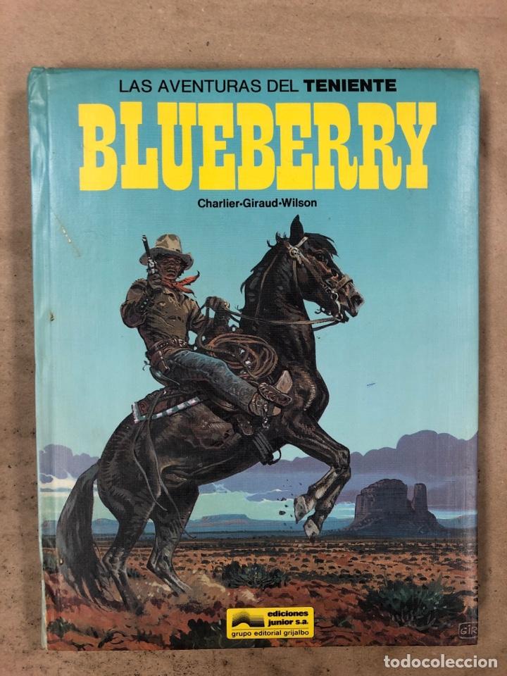 LAS AVENTURAS DE TENIENTE BLUEBERRY N° 7. CHARLIER - GIRAUD - WILSON. GRIJALBO DARGAUD. 3 NÚMEROS. (Tebeos y Comics - Grijalbo - Blueberry)