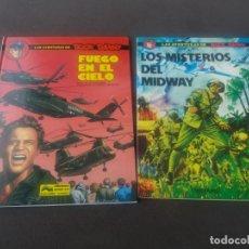 Comics: BUCK DANNY NOVARO Nº 1 LOS MISTERIOS DE MIDWAY Y GRIJALBO JUNIOR Nº 43 FUEGO EN EL CIELO . Lote 175031733