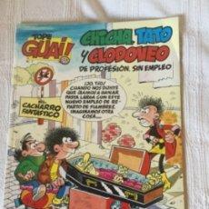 Cómics: CHICHA, TATO Y CLODOVEO. EL CACHARRO FANTÁSTICO. GRIJALBO 1987. Lote 175054120