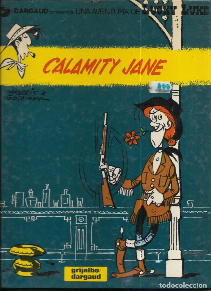 == J10 - LUCKY LUKE - CALAMITY JANE - GRIJALBO / DARGAUD (Tebeos y Comics - Grijalbo - Lucky Luke)