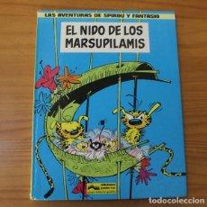 Fumetti: SPIROU Y FANTASIO 10 EL NIDO DE LOS MARSUPILAMIS. GRIJALBO JUNIOR 1982 TAPA DURA. Lote 175123509
