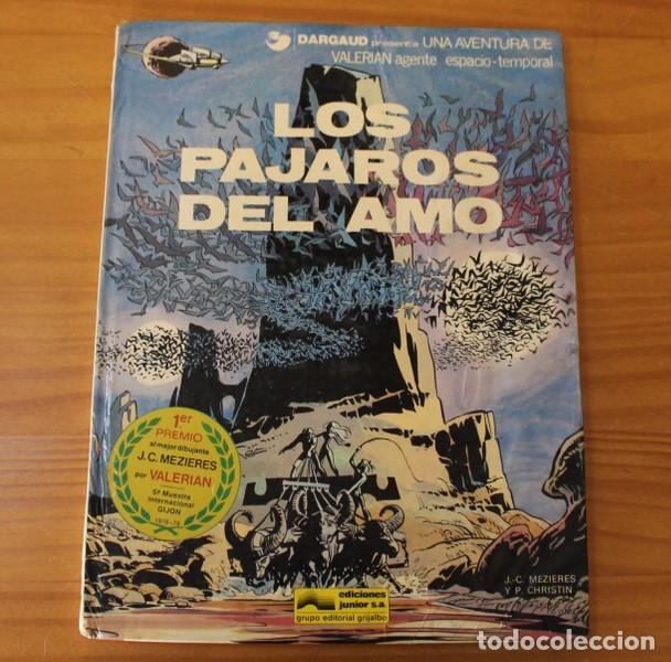 VALERIAN 4 LOS PAJAROS DEL AMO, MEZIERES CHRISTIN. GRIJALBO JUNIOR 1979 TAPA DURA (Tebeos y Comics - Grijalbo - Valerian)