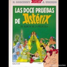 Cómics: LAS DOCE PRUEBAS DE ASTERIX. SALVAT.. Lote 175160482