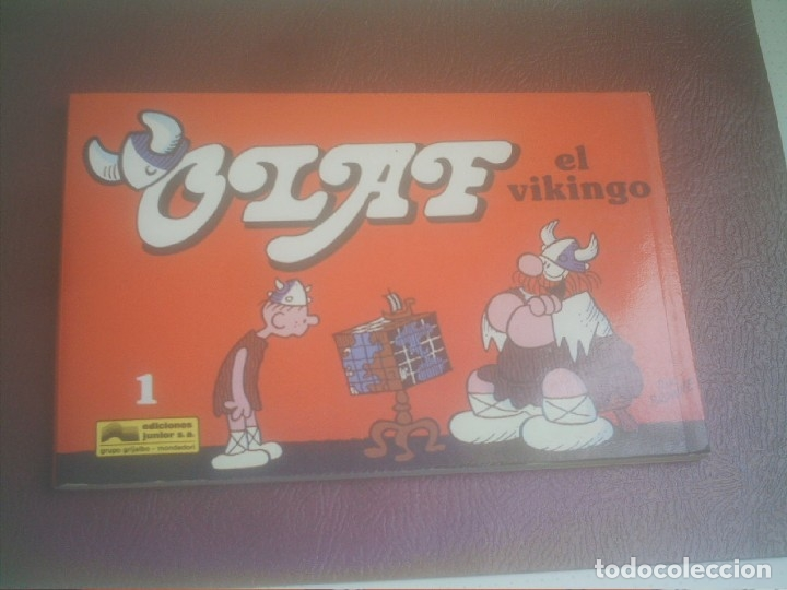 OLAF EL VIKINGO Nº 1 EDICIONES JUNIOR S.A. DIK BROWNE GRUPO GRIJALBO (Tebeos y Comics - Grijalbo - Otros)