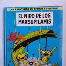 Cómics: EL NIDO DE LOS MARSUPILAMIS. LAS AVENTURAS DE SPIROU Y FANTASIO. 1997.. Lote 175433364