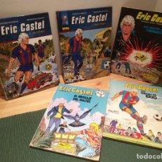 Cómics: ERIC CASTEL, LOTE DE 5 CÓMICS EN CASTELLANO. Lote 175454023