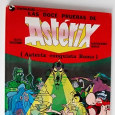 Cómics: ASTERIX - LAS DOCE PRUEBAS - ASTÉRIX CONQUISTA ROMA. Lote 175674727