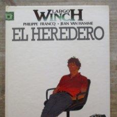 Fumetti: LARGO WINCH - Nº 1 - EL HEREDERO - FRANCQ - VAN HAMME - GRIJALBO / DARGAUD. Lote 175707159