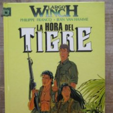 Fumetti: LARGO WINCH - Nº 1 - LA HORA DEL TIGRE - FRANCQ - VAN HAMME - GRIJALBO / DARGAUD. Lote 175707228