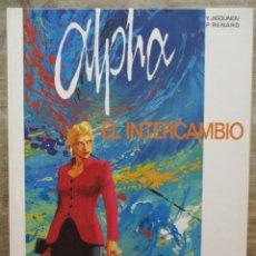 Cómics: ALPHA Nº 1: EL INTERCAMBIO / Y. JIGOUNOV - P. RENARD- GRIJALBO / DARGAUD. Lote 175707517