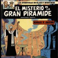 Cómics: EL MISTERIO DE LA GRAN PIRÁMIDE, SEGUNDA PARTE, Nº 2. Lote 175707854