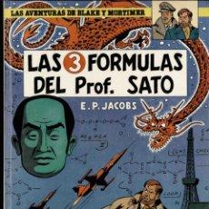 Cómics: LAS TRES FÓRMULAS DEL PROFESOR SATO Nº 8. Lote 175708713