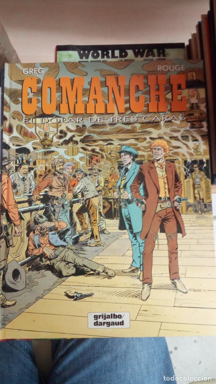 COMANCHE 12 EL DOLAR DE TRES CARAS NUEVO (Tebeos y Comics - Grijalbo - Comanche)