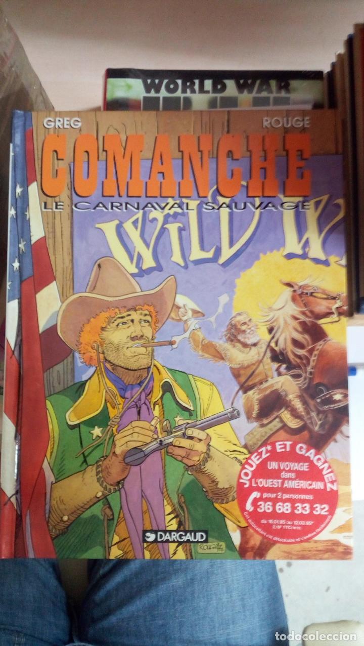 COMANCHE, TOME 13 : LE CARNAVAL SAUVAGE TAPAS DURAS NUEVO DESCATALOGADO INÉDITO EN ESPAÑA (Tebeos y Comics - Grijalbo - Comanche)