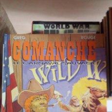 Cómics: COMANCHE, TOME 13 : LE CARNAVAL SAUVAGE TAPAS DURAS NUEVO DESCATALOGADO INÉDITO EN ESPAÑA. Lote 175862770