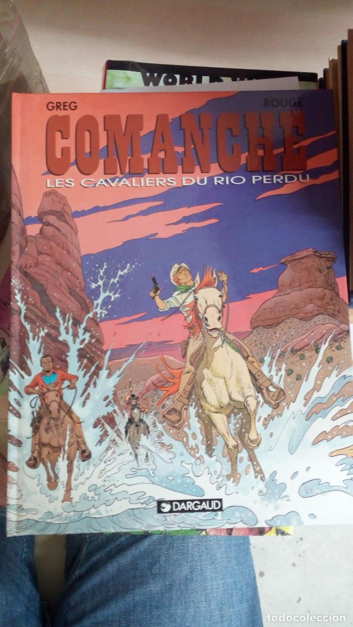 COMANCHE, TOME 14 : LES CAVALIERS DU RIO PERDU. TAPA DURA. NUEVO. DESCATALOGADO. INEDITO EN ESPAÑA (Tebeos y Comics - Grijalbo - Comanche)