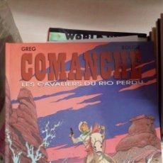 Cómics: COMANCHE, TOME 14 : LES CAVALIERS DU RIO PERDU. TAPA DURA. NUEVO. DESCATALOGADO. INEDITO EN ESPAÑA. Lote 175863090
