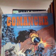 Comics : COMANCHE, TOME 15 : RED DUST EXPRESS. TAPA DURA NUEVO DESCATALOGADO INEDITO EN ESPAÑA. Lote 175863364