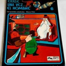 Cómics: ERASE UNA VEZ...EL HOMBRE, LAS GRANDES CATEDRALES, MARCO POLO Nº6 / GRIJALBO 1979. Lote 175960082