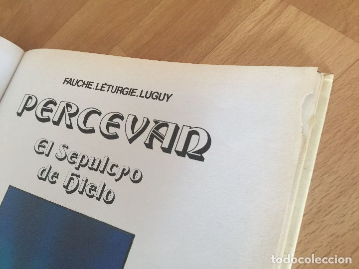 Cómics: PERCEVAN Nº 2. EL SEPULCRO DE HIERRO - FAUCHE. LETURGIE. LUGUY - JUNIOR/GRIJALBO - TAPA DURA - GCH - Foto 3 - 175973365
