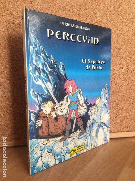 PERCEVAN Nº 2. EL SEPULCRO DE HIERRO - FAUCHE. LETURGIE. LUGUY - JUNIOR/GRIJALBO - TAPA DURA - GCH (Tebeos y Comics - Grijalbo - Percevan)