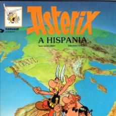 Cómics: ASTERIX A HISPANIA *** IDIOMA CATALÁN *** GRIJALBO DARGAUD AÑO 1982 TAPA DURA. Lote 176021699