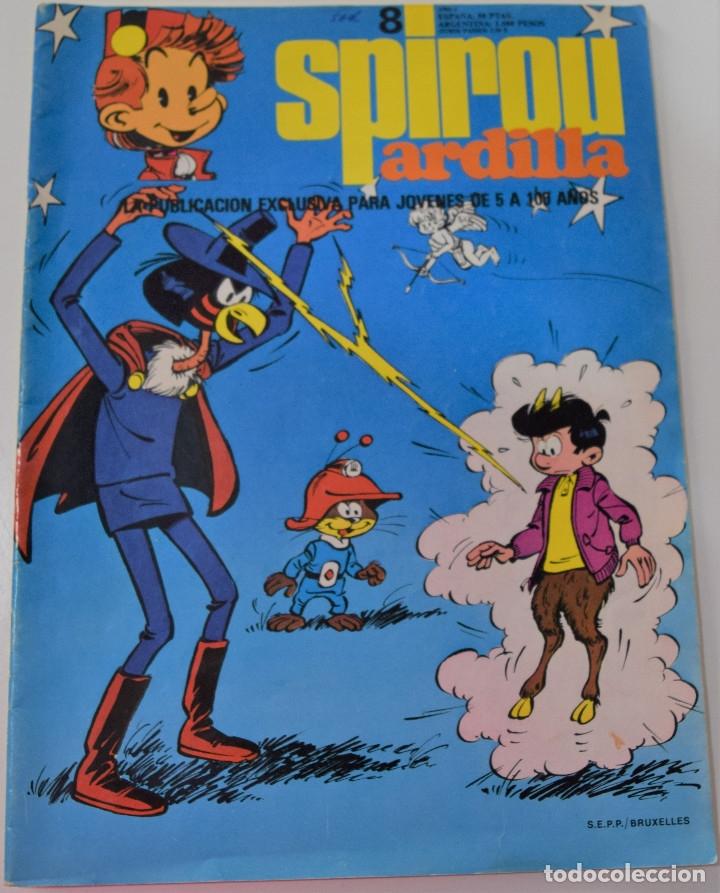 SPIROU ARDILLA Nº 8 (Tebeos y Comics - Grijalbo - Spirou)