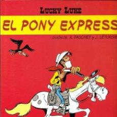 Cómics: LUCKY LUKE, DE MORRIS - EL PONY EXPRESS - SALVAT 2002 - COMO NUEVO. Lote 176093509