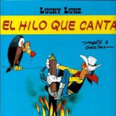 Cómics: LUCKY LUKE, DE MORRIS - EL HILO QUE CANTA - SALVAT 2002 - COMO NUEVO. Lote 176093679