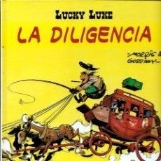 Cómics: LUCKY LUKE, DE MORRIS - LA DILIGENCIA - SALVAT 2001 - COMO NUEVO. Lote 176094059