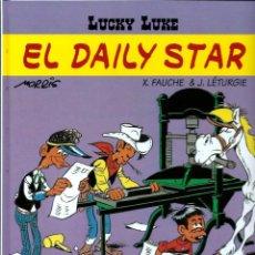 Cómics: LUCKY LUKE, DE MORRIS - EL DAILY STAR - SALVAT 2001 - COMO NUEVO. Lote 176094132
