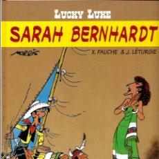 Cómics: LUCKY LUKE, DE MORRIS - SARAH BERNHARDT - SALVAT 2001 - COMO NUEVO. Lote 176094214