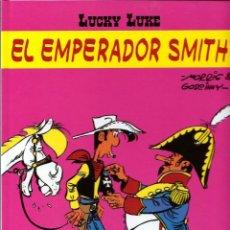 Cómics: LUCKY LUKE, DE MORRIS - EL EMPERADOR SMITH - SALVAT 2001 - COMO NUEVO. Lote 176094520