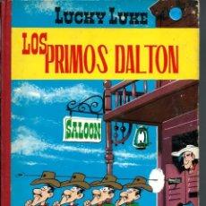 Cómics: 3 COMICS DE LUCKY LUKE, DE MORRIS - PRIMOS DALTON, EL JUEZ Y CARRERA EN OKLAHOMA- TORAY 1969 2ª ED.. Lote 176095352
