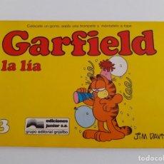 Cómics: GARFIELD LA LIA. NUM. 13. TIRAS DE PRENSA. TAPA BLANDA. JIM DAVIS. Lote 176099677