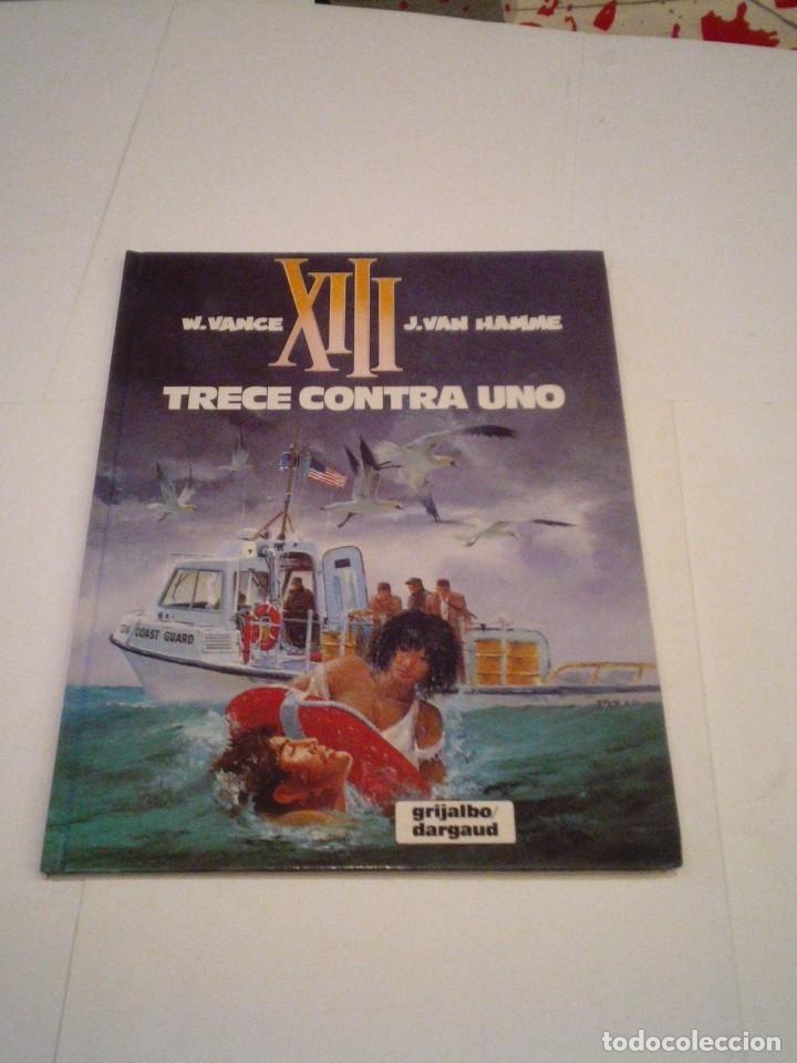 XIII - TRECE CONTRA UNO - NUMERO 8 - GRIJALBO - BUEN ESTADO - TAPA DURA - CJ 110 _ GORBAUD (Tebeos y Comics - Grijalbo - XIII)