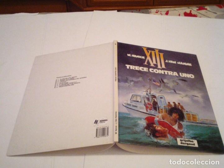 Cómics: XIII - TRECE CONTRA UNO - NUMERO 8 - GRIJALBO - BUEN ESTADO - TAPA DURA - CJ 110 _ GORBAUD - Foto 2 - 176128609