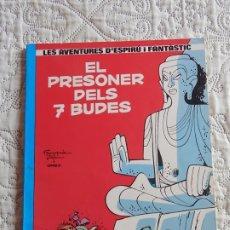 Cómics: LES AVENTURES D´ESPIRU I FANTASTIC - EL PRESONER DELS 7 BUDES N. 12 - CATALA. Lote 176165949