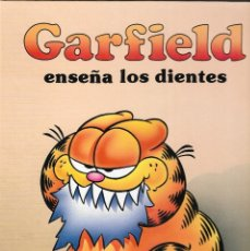 Cómics: GARFIELD ENSEÑA LOS DIENTES - JIM DAVIS - EDICIONES JUNIOR S.A. / EDT. GRIJALBO, 1989.. Lote 176407774