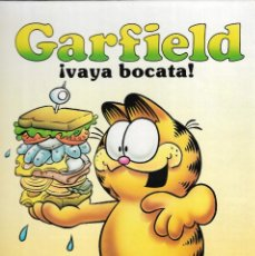 Cómics: GARFIELD ¡ VAYA BOCATA ! - JIM DAVIS - EDICIONES JUNIOR S.A. / EDT. GRIJALBO, 1989.. Lote 176408943
