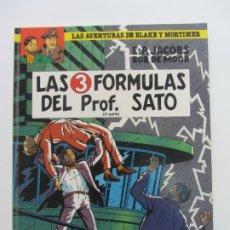 Cómics: LAS AVENTURAS DE BLAKE Y MORTIMER Nº 12 LAS 3 FORMULAS DEL PROF. SATO 2ª PARTE. GRIJALBO BUEN ESTADO. Lote 176462942