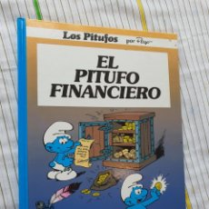 Cómics: LOS PITUFOS, EL PITUFO FINANCIERO, GRIJALBO. Lote 176480234