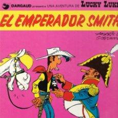 Cómics: EL EMPERADOR SMITH - LUCKY LUKE - MORRIS Y GOSCINNY - Nº 1 - GRIJALBO / DARGAUD - 1982.. Lote 176632499