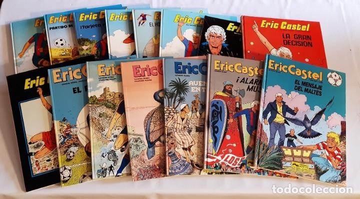 ERIC CASTEL - JUNIOR (GRIJALBO) / COLECCIÓN COMPLETA (15 NÚMEROS) (Tebeos y Comics - Grijalbo - Eric Castel)
